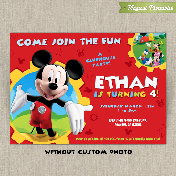 mickey mouse clubhouse invitations printable Minimfagencyco